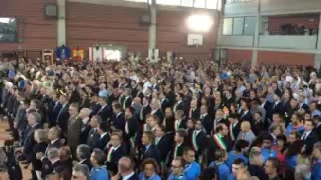 Funeral de Estado en Italia por las v�ctimas del terremoto