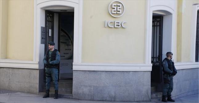 Prisi�n provisional para los seis directivos detenidos del ICBC chino
