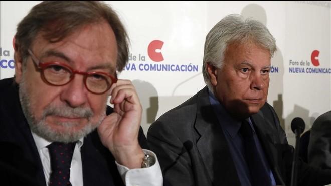 Una fundació de González i Cebrián, esquitxada pels 'papers de Panamà'