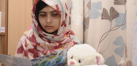 Malala agradece el apoyo para su recuperación