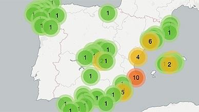 El mapa de los imputados