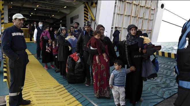 Caos a Lesbos després de l'entrada en vigor de l'acord UE-Turquia