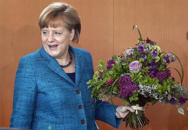 La Merkel m�s humana