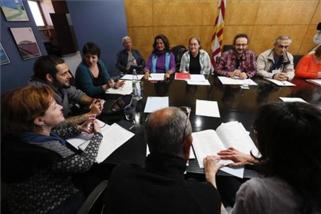 Primer encuentro entre el Ayuntamiento de Barcelona y personas sintecho para elaborar una mejor planificación en favor del colectivo.
