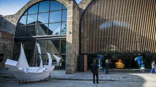 El Museu Marítim estrena un nuevo acceso de cara al mar