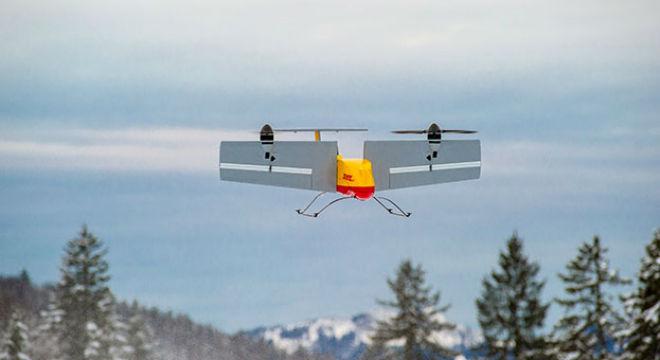 DHL mostra la seva exitosa experiència repartint paquets amb drons