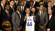 Los Warriors visitan a Obama en la Casa Blanca