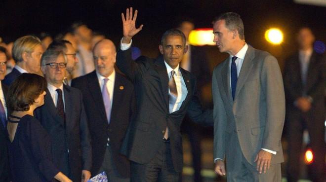 La primera visita oficial de Barack Obama a España | Directo