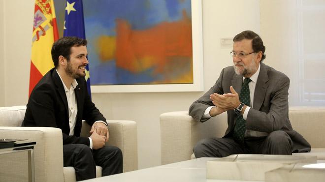 Garzón rebutja el pacte d'Estat de Rajoy contra la independència