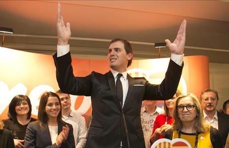 Ciutadans triplica los resultados hasta conseguir nueve esca�os