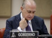 Jorge Fernández Díaz, durante una intervención en el Congreso de los Diputados.