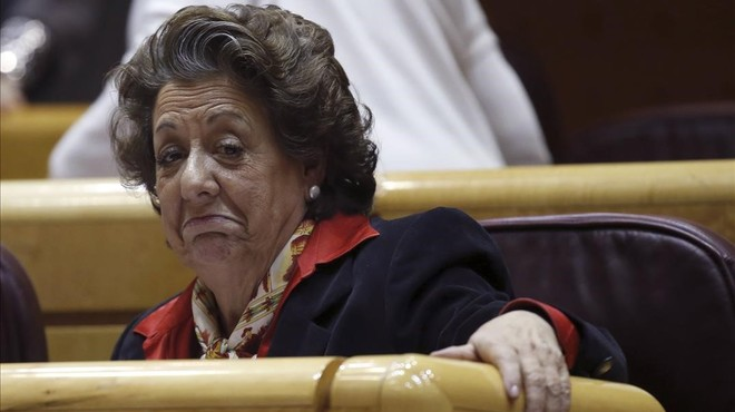 Rita Barberá es persona en la causa sobre blanqueig de capitals al PP de València