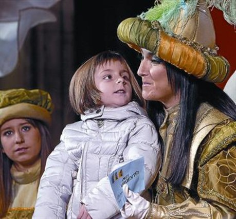 La cabalgata de Reyes se convierte en un 'show' con gui�n y canciones