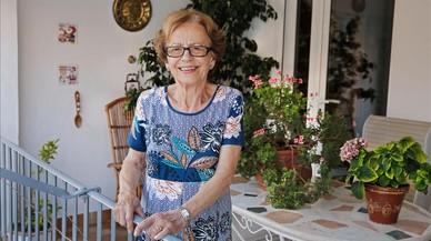 Antonia Santamaria: «Vaig néixer a Elna i mon pare en va apuntalar les parets»