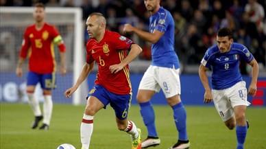 Ramos espatlla una bona actuació de 'la Roja'