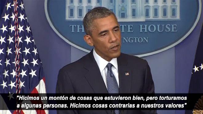 """""""Vam torturar gent"""" després dels atacs de l'11-S, reconeix Obama"""