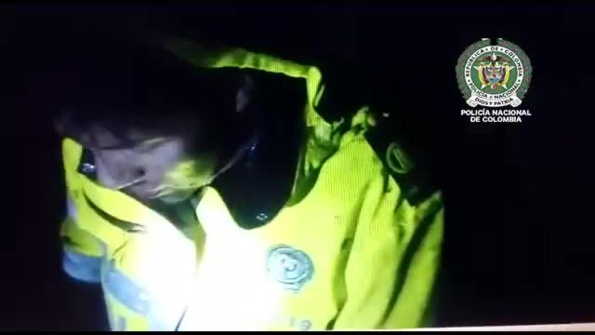 Vídeo del rescate de un superviviente del accidente de avión del Chapecoense.