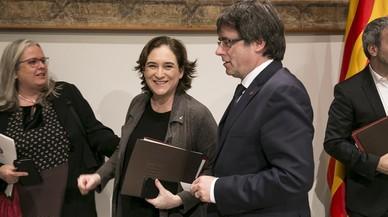La carta de Puigdemont i Colau a Rajoy i el Rei per un referèndum pactat