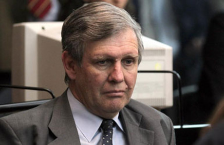 El exteniente Alfredo Astiz, condenado a cadena perpétua.
