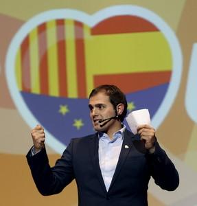 Albert Rivera, en el acto final de campaña.
