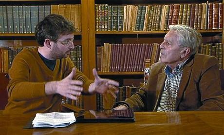 Jordi Évole y el exfiscal anticorrupción Carlos Jiménez Villarejo, en una imagen de 'Salvados'.