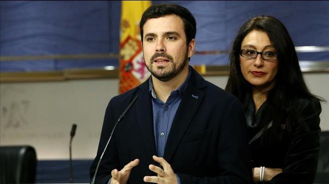 Alberto Garzón, disposat a negociar un Govern amb el PSOE i Podem