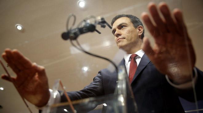 Pedro Sánchez: El PSOE está dispuesto. Si Rajoy renuncia daremos un paso al frente