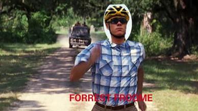 Humor a la xarxa per la imatge de Froome corrent al Tour
