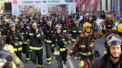 Els bombers tornen a córrer pels carrers de Barcelona