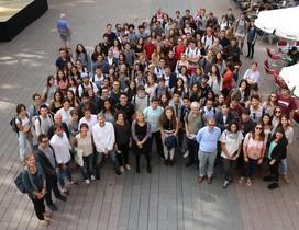 Estudiantes de Diseño en Sant Boi.