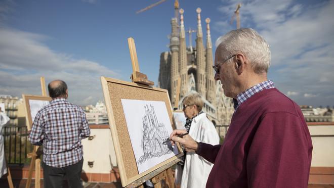 Actividad promovida por la Fundación Bancaria La Caixa dirigida a personas mayores