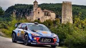 Dani Sordo, en la última edición del RallyRACC Catalunya