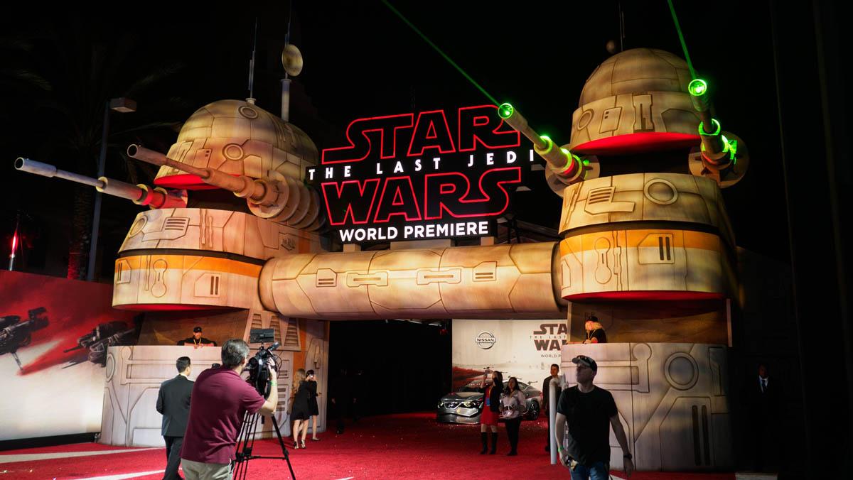 Estreno en Los Angeles de Star Wars, Los últimos Jedi