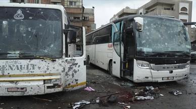 Desenes de morts en un doble atemptat a Damasc