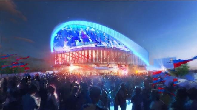 El nuevo Palau Blaugrana