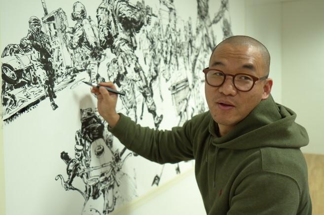 Kim Jung Gi.