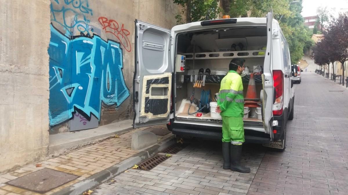 La limpieza de pintadas ser m s sostenible ambiental y for Limpieza de coches barcelona