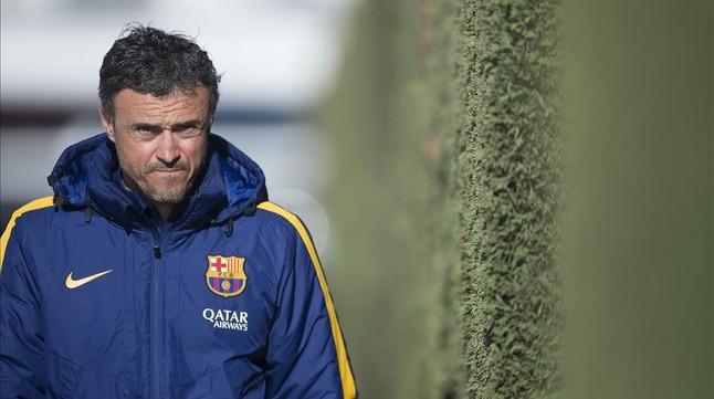 "Luis Enrique ve a Messi ""capaz de todo"""
