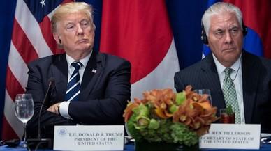 El duel Trump-Tillerson, una bomba de rellotgeria