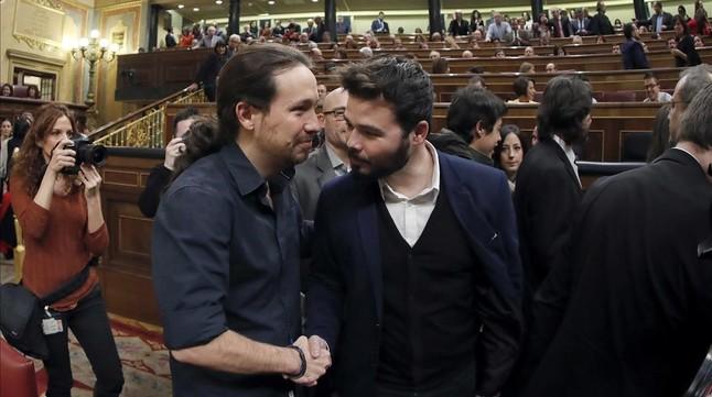 """Gabriel Rufián: """"Felipe González representa la putrefacción del PSOE"""""""