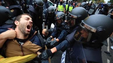 1-O: represión contra votos
