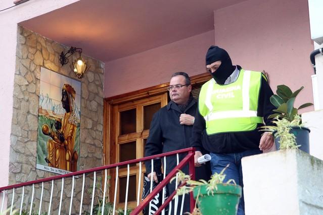 Detenido el primer teniente de alcalde de Lloret Josep Valls