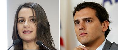 Rivera y Arrimadas, candidatos de C's al no tener rival para primarias