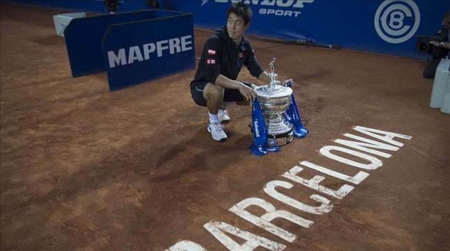 Nishikori defender t tulo en el trofeo conde god for Banc sabadell pisos