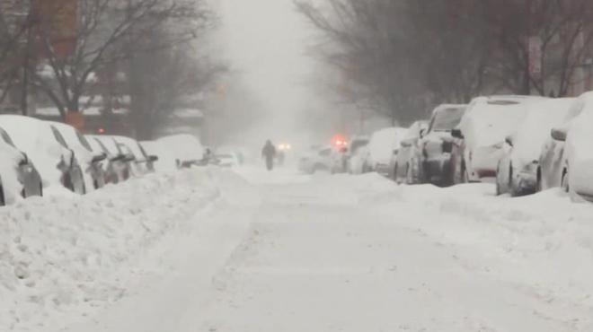 As� vivi� la tormenta de nieva el catal�n Gerard Garolera, residente en Nueva York desde hace 8 a�os