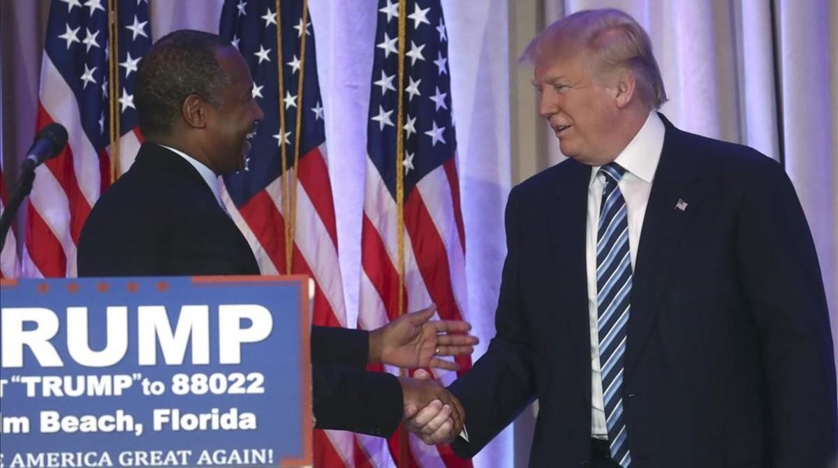 Ben Carson apoya la candidatura de Trump