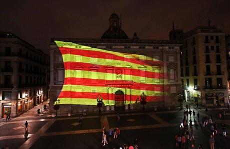 La Diada 2014, cr�nica de los 11 kil�metros de la gran 'V'
