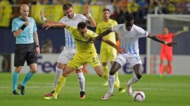 Imagen del partido Villarreal-Zurich disputado el 15 de septiembre dentro de la Europa League de esta temporada.