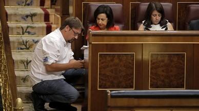 El PSOE y Domènech se enzarzan en Twitter con acusaciones mutuas de mentir