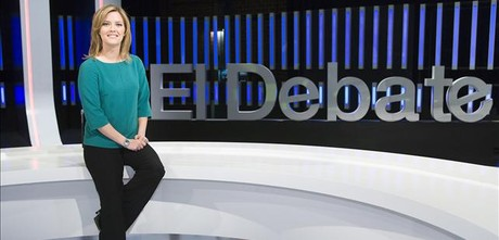 Maria Casado, en el plat de 'El debate de La 1'&amp;#160;.